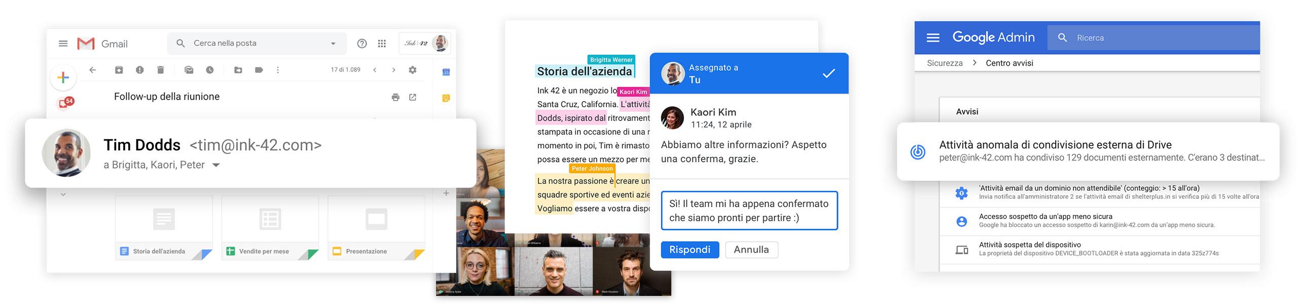 G Suite: strumenti di collaborazione aziendale in modalità cloud