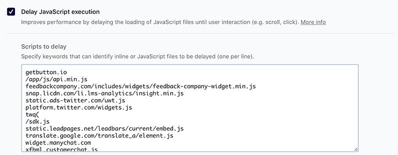 Delay JavaScript Execution - ritardo di esecuzione dei file JavaScript