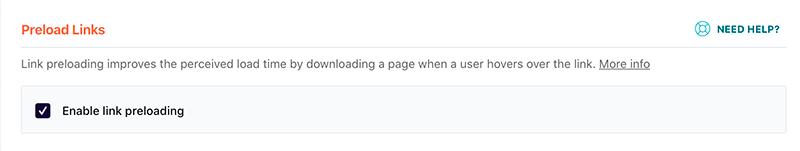 Preload Links - precaricamento delle pagine prima di cliccare sui link