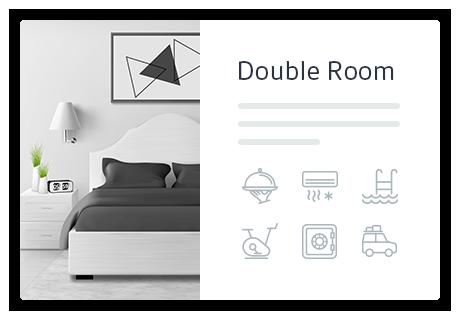 Hotel Booking - Presentazione della proprietà: servizi, galleria di immagini, tariffe