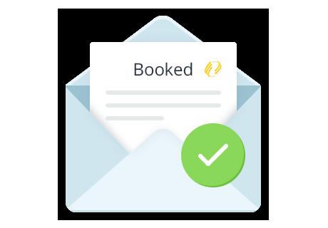Hotel Booking - Notifiche via e-mail per l'amministrazione e i clienti